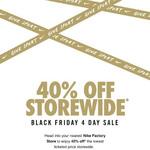40% off Nike Factory Outlet @ Dress Smart