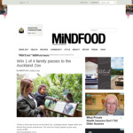 Win 1 of 4 Family Passes to The Auckland Zoo from Mindfood