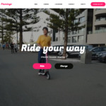 15 Free Minutes on Flamingo Scooters (New Users)