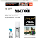 Win a SodaStream Source Machine with Two My Only Bottles (Worth $233) from Mindfood