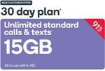 Kogan Mobile Prepay Voucher Code: LARGE (30 Days   15GB) (New Customer Only) $4.90 from Kogan Mobile