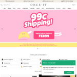 $0.99 Shipping at Onceit
