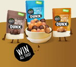 Win 3 Packs of New Graze Peanut DUNX + a Bowl from Graze Nuts