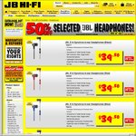 50% off JBL Headphones @ JB Hi-Fi