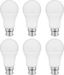 Lectro 9W 800lm A60 LED Globe 6 Packs $9 (Was $15) @ Bunnings (Daylight/Warm BC/ES)