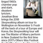 Win a Double Pass to See Jonathan Bree from The Dominion Post (Wellington)