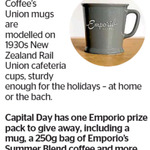 Win a Emporio Coffee Prize Pack from The Dominion Post