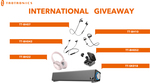 Win 1 of 5 Pairs of Headphones or a Soundbar from TaoTronics
