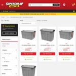 50% off SCA Storage Containers: 52 Litre $3.50, 22 Litre $2.75 @ Supercheap Auto