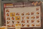 30 Days of Deals via App @ McDonald's - Free McChicken on 11th November + More