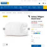 Galaxy 300gsm Duvet Inner - All Sizes $19 @ Briscoes
