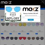 Polarized Retro Clubmaster Sunglasses $29 Plus Free Shipping with Discount Code @ Makz Australia