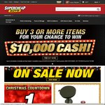 At Least 25% off @ Supercheap Auto Boxing Day Sale