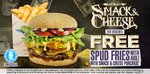 Free Spud Fries with Smack & Cheese Burger Purchase @ Burger Fuel