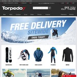 Free Delivery Sitewide at Torpedo7