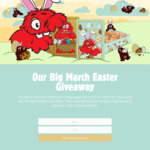 Win 1 of 31 Easter Tin Sets Filled with Chocolate Chip Bite Size Cookies from Munchtime