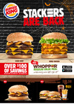 FREE Value Meal @ Burger King (Must Sign up to APP)