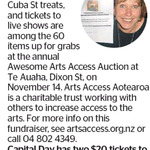 Win 2 $20 Awesome Arts Access Auction Tickets from The Dominion Post (Wellington)