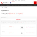Beijing from Christchurch $603, Auckland $608, Wellington $639 Return on Qantas