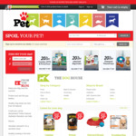 15% off at Pet.co.nz