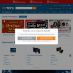 Free shipping @ PBTech (Min Spend $20)