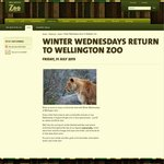 $7 Entry for Adults (Normally $21) & $5 (Normally $10.50) for Kids Wednesdays @ Wellington Zoo