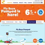 6 Cents/Litre off + 3x Fly Buy Points @ Z Stations