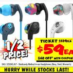 Skullcandy Method In-Ear Headphones $59 Save $60 @ JB Hi-Fi