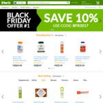 10% off Site-Wide with Code for Black Friday @ iHerb