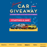 5 Suzuki Cars To Be Won Over 5 Weeks starting 8 Jan 2018 with Stuff