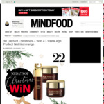 Win 1 of 10 Sets of L'Oreal Age Perfect Nutrition Range from Mindfood