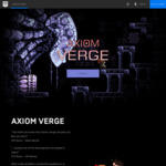 [PC Game] Axiom Verge Free @ Epic Game Store