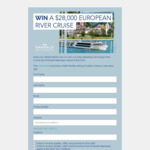 Win a European River Cruise with Stuff Newspapers (Daily Keywords)