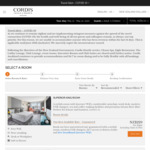 Cordis (Auckland) 15% off Room Price - Per Night from $153(Room) $206 (+Breakfast)
