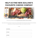 Win a NZ Cheese Hamper Worth $80 with Cheese Lovers NZ
