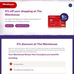 10% off Everything @ The Warehouse [Warehouse Money Required] [17th June Only]