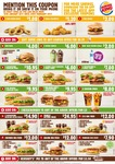 Burger King January Coupons: Onion Rings $1, Kids Meal $4, 2 BK Chickens + Reg Fries $9.95 + More