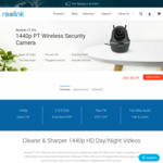 20% off C1 Pro 1440p PT Wireless IP Camera - $67.99 USD ($94.31 NZD) @ Reolink