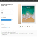 Refurbished iPad Wi-Fi 32GB (2017 Model, Gold) from Apple = NZ$389.00 (Free Delivery)