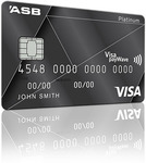 ASB Visa Platinum Rewards Credit Card - Earn 2X First 3 Months and $200 Bonus True Rewards Dollars ($80 Fee)