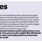 Win 1 of 5 Yates Autumn Growing Kits from The NZ Herald
