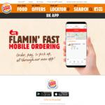 Buy 1 Get 1 Free Whopper Jr + Other Deals Via Burger King App