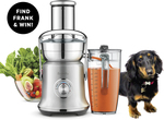 Win a Juice Fountain Cold XL Machine by Breville (Worth $500) from Good Mag