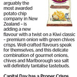 Win a Proper Crisps Prize Pack from The Dominion Post