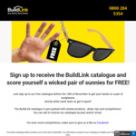 Free Pair of Sunnies @ Buildlink