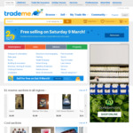 Free Selling on Saturday 9 March @ Trade Me