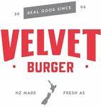 BOGOF Velvet Burger @ Uber Eats