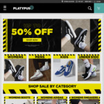 Up to 85% off (Last Sizes) + Extra 15% off Code @ Platypus Shoes ($10 Shipping, Free over $140, Pickup Selected Stores)
