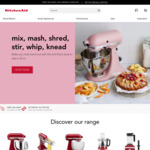 20% off KitchenAid NZ (+ Free Delivery over $49 Spend)