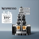 Nespresso Father's Day Cashback: $95 Coffee Credit or $50 Cashback (Most Machines) or $65 Coffee / $30 Cashback (Inissia and U)